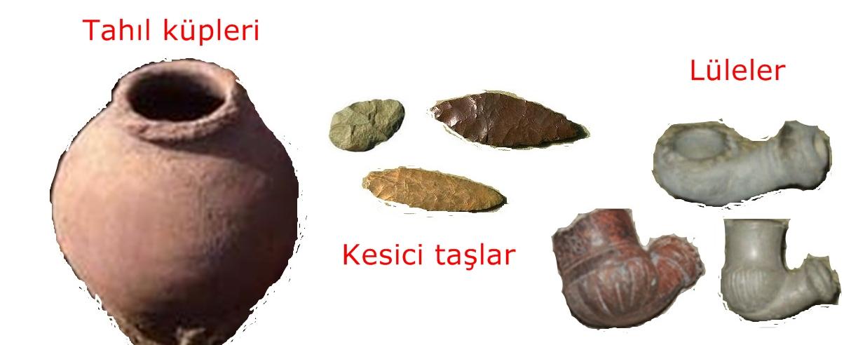 sultangazide bulunan antik eşyalar