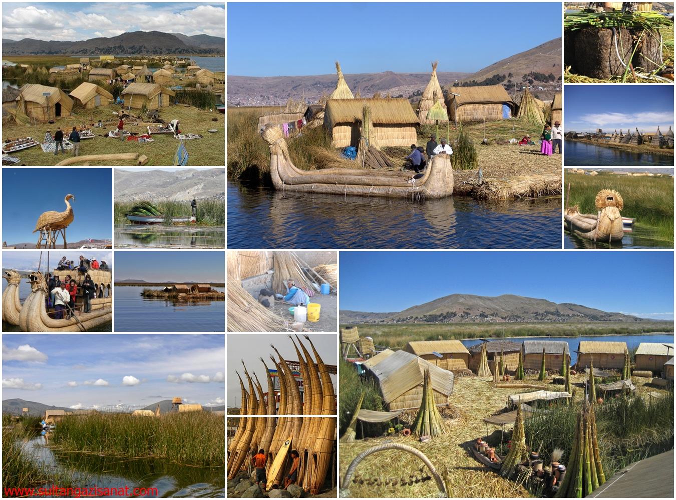 titicaca gölünde hayat