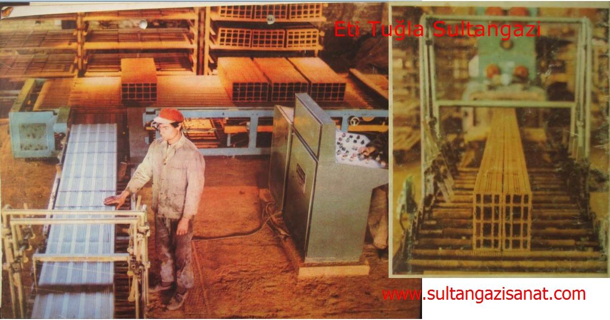 Eti Tuğla Sultangazi tuğlanın imalatı