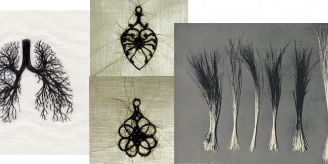 saç nakış sanatı