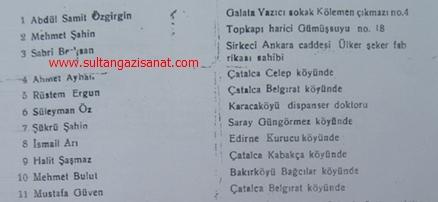 sultançifliğini sultandan satın alan ilk hissedar 11 kişi