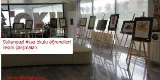 Sultangazi'de genç sanatçılar – Aksa okulu öğrencileri resim çalışmaları