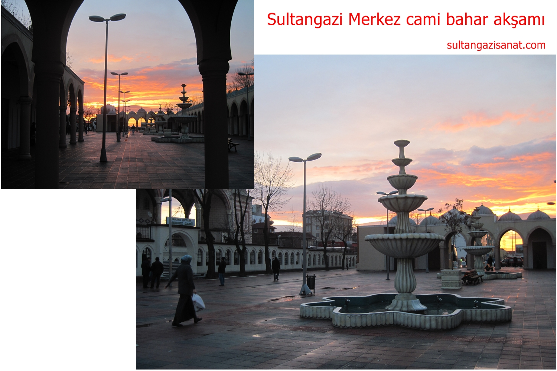 Sultangazi Merkez cami bahar akşamı3