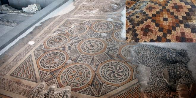 Dünyanın en büyük mozayik taban sanat eseri Antakya'da